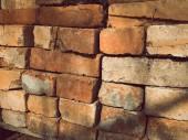 Brick stones building material background