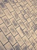 Cobblestone street ground background texture