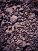 Purple gravel stone background texture