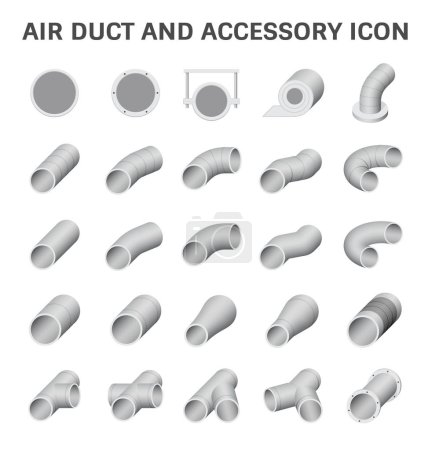 Air duct vector