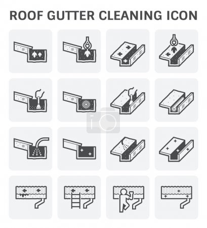Gutter Cleaning Icon