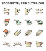 Roof Gutter Icon