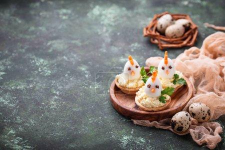 huehner aus den eiern ostern vorspeisen