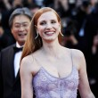 CANNES, FRANCE - MAY 19: Jessica Chastain attends ...