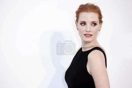 CAP D'ANTIBES, FRANCE - MAY 25: Jessica Chastain a...