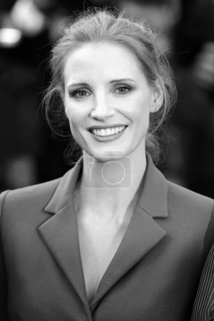 CANNES, FRANCE - MAY 21: Jessica Chastain attends ...
