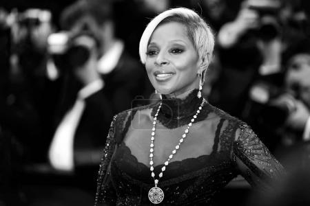 Singer Mary J. Blige