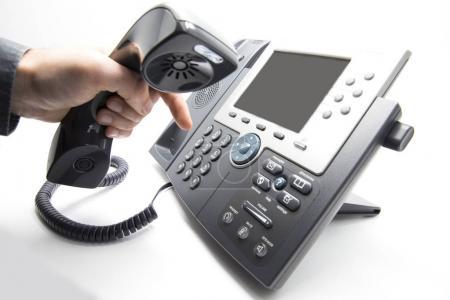 Dialing IP telephone keypad