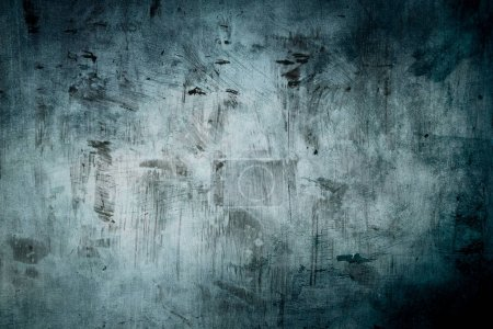 Blue grungy background or texture...