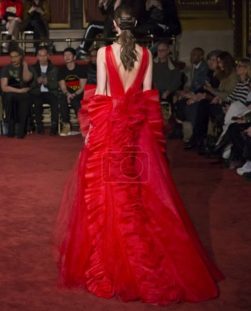 Christian Siriano show - Fall Winter 2018, New York Fashion Week