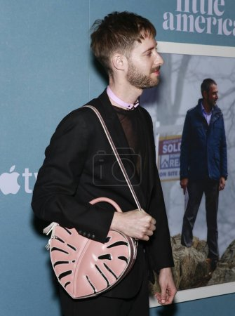 """Photo for Los Angeles, CA - January 23, 2020: Stephen Dunn attends the premiere of Apple TV+'s """"Little America"""" at Pacific Design Center - Royalty Free Image"""