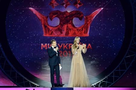 KYIV, UKRAINE - SEPTEMBER 6, 2017: Miss Ukraine 2017