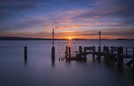 Sunset at Sandbanks in Dorset