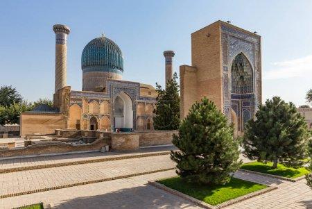 Gur-E Amir Mausoleum, in Samarkand, Uzbekistan