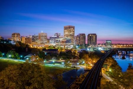 Downtown Richmond, Virginia skyline