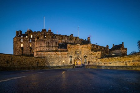 Photo for View of Edinburgh Castle in Scotland, UK - Royalty Free Image