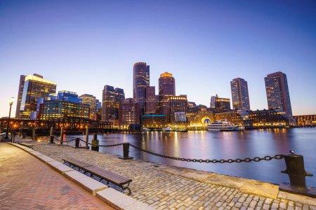 Boston Harbor  Massachusetts