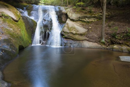 Photo for Widow Falls in Stone Mountain State Park in North Carolina - Royalty Free Image