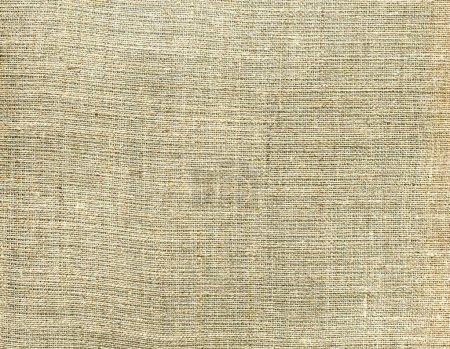 Photo pour Texture tissu toile beige. Contexte textile naturel - image libre de droit