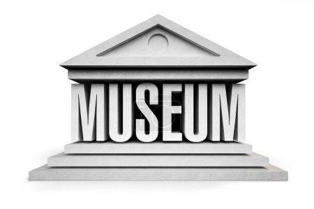 Museum line icon