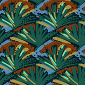 Abstract painting seamless pattern Free hand colorful background memphis style Hand drawn multi-color background