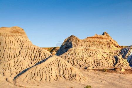 Badlands of Dinosaur Provincial Park in Alberta, Canada