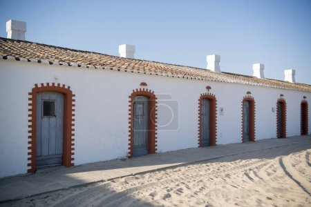 beach cafe at the Anchor cemetery in Portugal