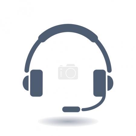 Foto de Icono de plano de apoyo. Firmar el call center. Póngase en contacto con soporte técnico. Llame y nosotros le contestaremos. - Imagen libre de derechos