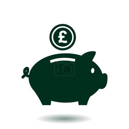 Piggy bank money.