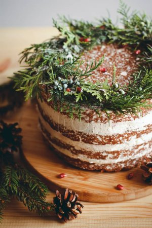 Beautiful decorated cake