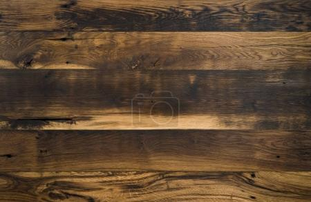 Photo for Close-up of natural wooden texture planks  background - Royalty Free Image