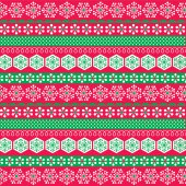 Red and green christmas stripe