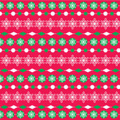 Red green christmas stripe