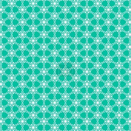 white blue snowflake pattern