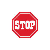 Stop Sign Icon vector illustration