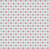 Pattern of retro ornaments vector illustration