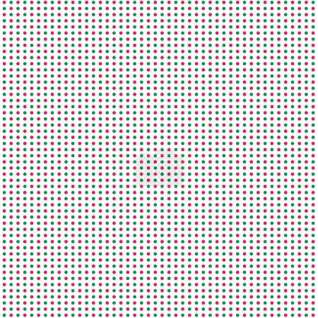 Illustration pour Points de cuivre abstraits sur fond blanc, illustration vectorielle - image libre de droit