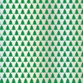 Abstract christmas trees on silver bacground vector illustration