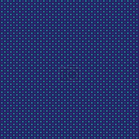 Illustration pour Points de cuivre abstraits sur fond bleu, illustration vectorielle - image libre de droit