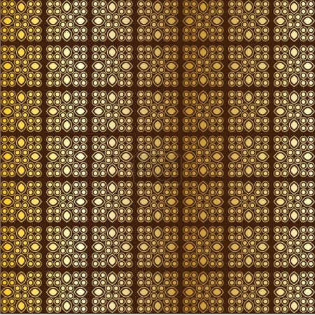 Abstract golden pattern