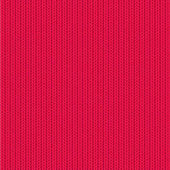 Red knit background vector illustration