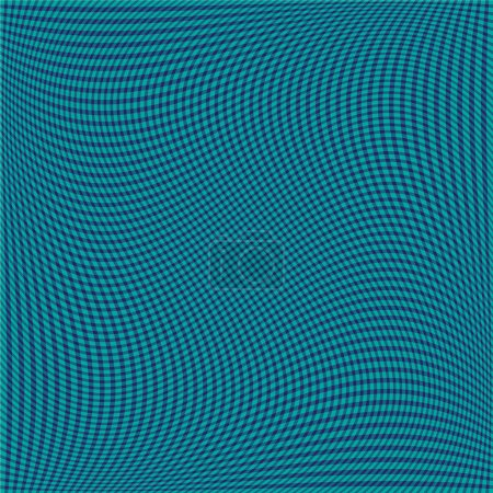 geometric wavy stripe pattern