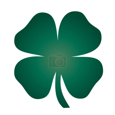 Green four leaf Clover