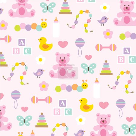 baby pattern background