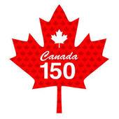 Canada maple leaf 150 graphic