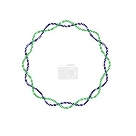 rope circle frame