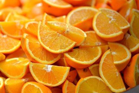 Photo for Slice of orange fruit - Royalty Free Image