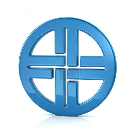 blue shield knot symbol