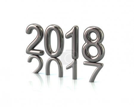 silver 2018 year number