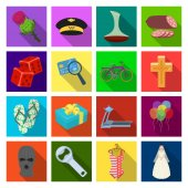 celebration sport business and other web icon in flat style girl travel rest icons in set collection
